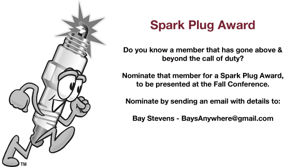 Nominate a Toastmaster for a Spark Plug Award