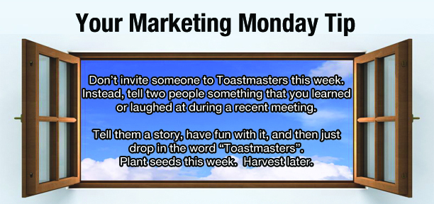 Marketing Monday Tip