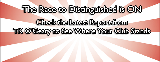 The Race to Distinguished is On!!!