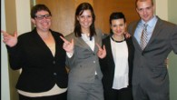 Lubbock, TX, Toastmaster Jessica Haseltine and her teammates took the top two spots at a the National Entertainment Law Negotiation Competition in Los Angeles earlier this month. Featuring 24 teams from...