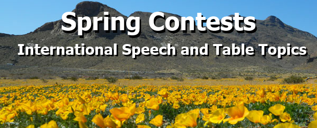 Spring 2014 Contests