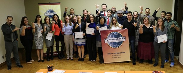 In the summer of 2014, Shannon Osborne Freemyer, Leadership Program Coordinator for the University of Texas at El Paso, pitched Toastmasters as an initiative to help students with their public […]