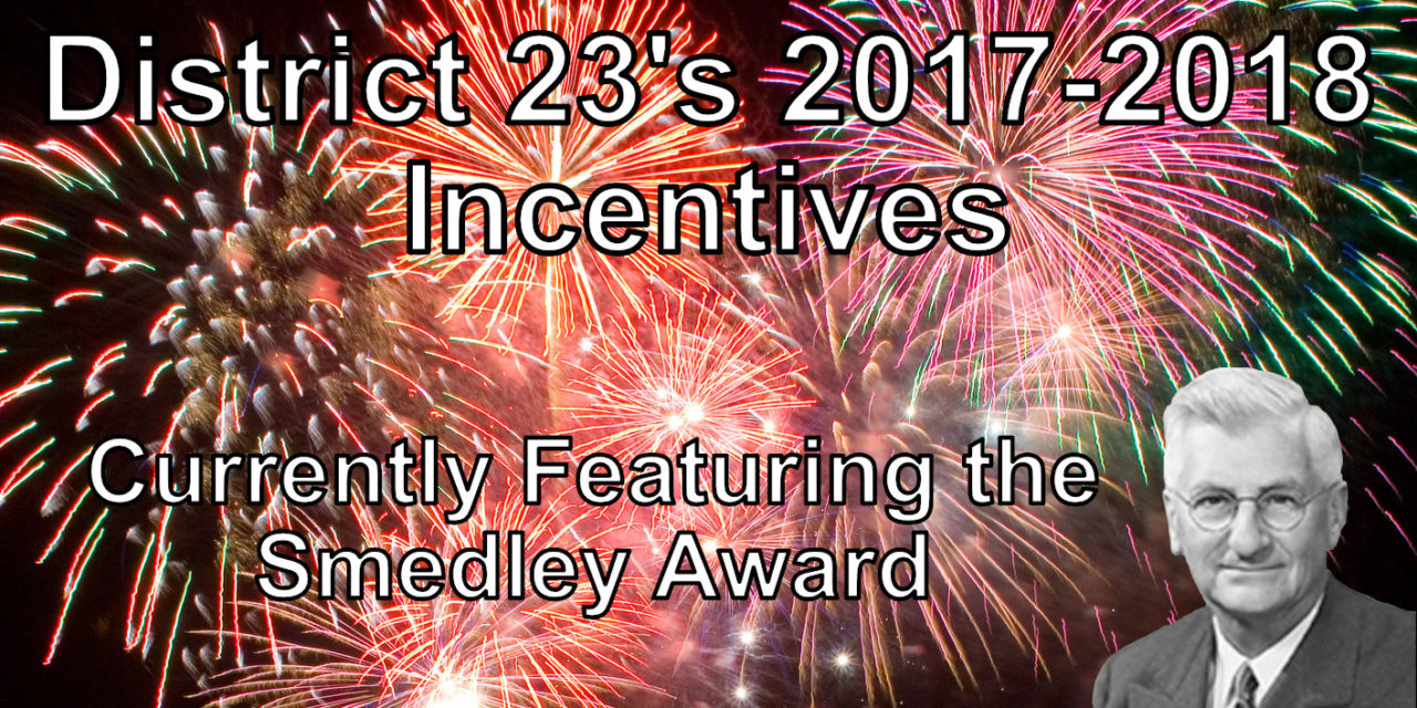 Incentives for 2017-2018