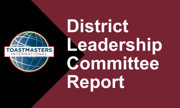 District Leadership Committee Report – Spring 2019